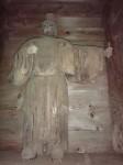 木造門客人神立像(阿形)